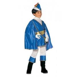 Costum printul albastru - marimea 128 cm