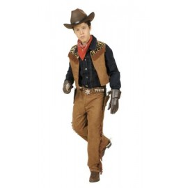 Costum cowboy-indian - marimea 128 cm