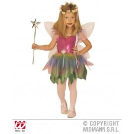 Costum zana curcubeu - marimea 128 cm