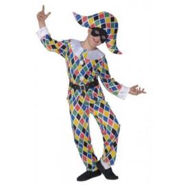 Costum arlechin - marimea 128 cm