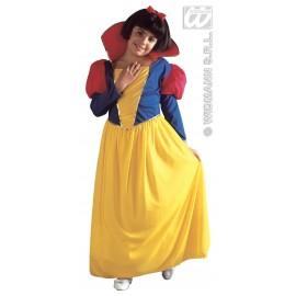 Costum Alba Ca Zapada - Marimea 128 Cm