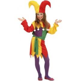 Costum arlechin - marimea 158 cm