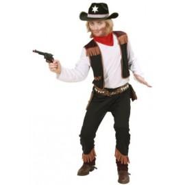 Costum cowboy - marimea 128 cm