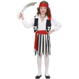 Costum piratesa - marimea 128 cm
