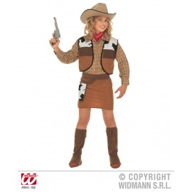 Costum western cowgirl - marimea 128 cm