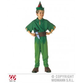 Costum peter pan - marimea 128 cm