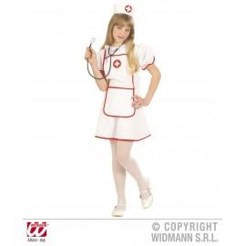Costum mica asistenta - marimea 128 cm