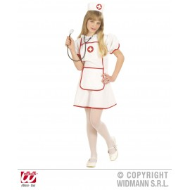 Costum mica asistenta - marimea 140 cm