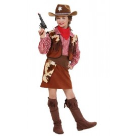 Costum cowgirl - marimea 140 cm