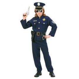 Costum politist - marimea 140 cm