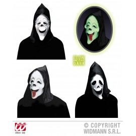 Masca comica Fantoma Fosforescenta