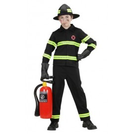 Costum pompier - marimea 140 cm