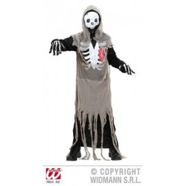 Costum schelet zombie - marimea 128 cm