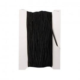 Fir elastic negru