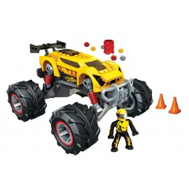 Mega Bloks - Super Blitzen Monster Traks Hot Wheels imagine