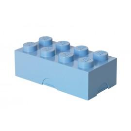 Cutie sandwich LEGO 2x4 albastru deschis