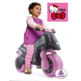 Motocicleta fara pedale Injusa Hello Kitty (INJ1904)