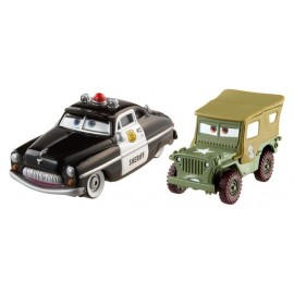 Disney Cars 2 - Sheriff si Sergent