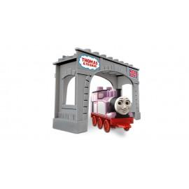 Mega Bloks - Locomotiva Rosie Cu Pod imagine