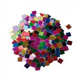 Mozaic colorat metalic din hartie