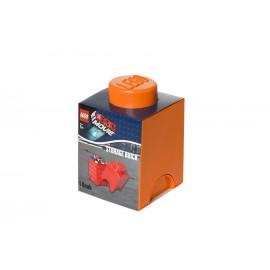 Cutie depozitare LEGO Movie 1x1 portocaliu