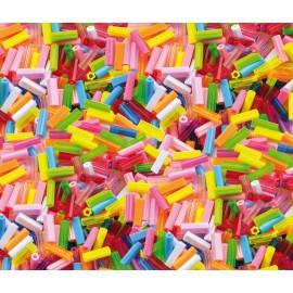 Margele lungi din plastic