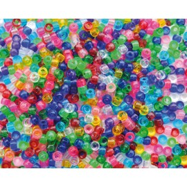 Margele din plastic transparente