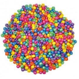 Margele din plastic perlate