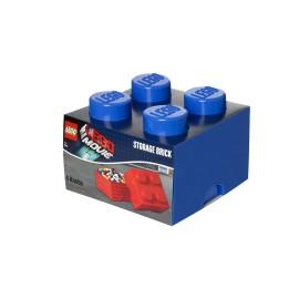 Cutie depozitare LEGO Movie 2x2 albastru inchis