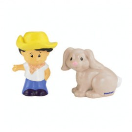 Set Figurine Koby Si Iepurasul Little People - Fisher Price