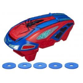 Lansator motorizat de discuri Spiderman - Hasbro