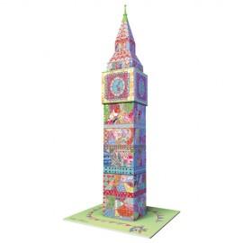 Puzzle 3d big ben colorat 216 piese