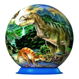 Puzzle 3d dinozauri 72 piese