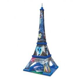 Puzzle 3d Turnul Eiffel Mickey Si Minnie 216 Piese imagine