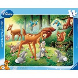 Puzzle bambi 8 piese
