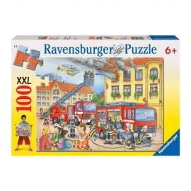 Puzzle departamentul pompierilor 100 piese
