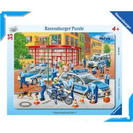 Puzzle fortele politiei 35 piese