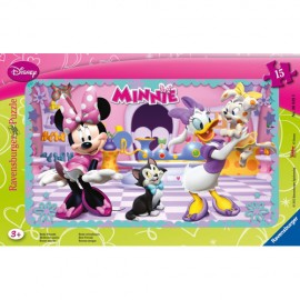 Puzzle minnie mouse 15 piese
