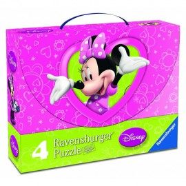 Puzzle minnie mouse 2x25 piese2x36 piese