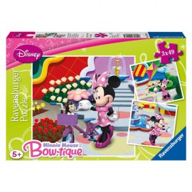 Puzzle minnie mouse 3x49 piese