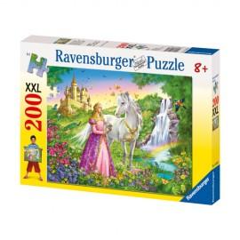 Puzzle printesa si cal 200 piese
