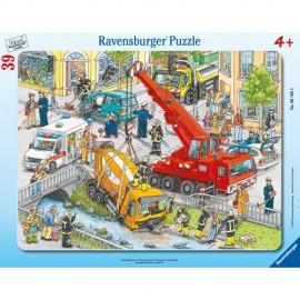 Puzzle servicii de urgenta 39 piese