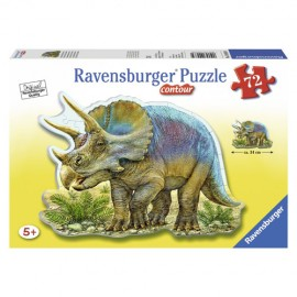 Puzzle triceratops 72 piese
