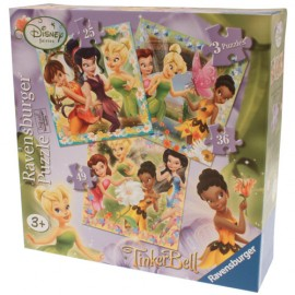 Puzzle zanele disney 3 buc in cutie 253649 piese