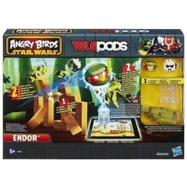 Joc de societate Urmarie pe planeta Endor - Star Wars Angry Birds - Hasbro