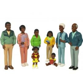 Figurine Familie Africana imagine
