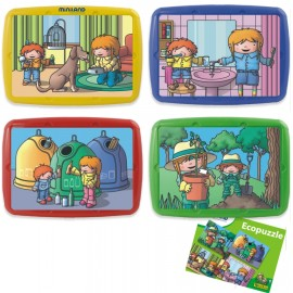 Set 4 puzzle Atitudine Ecologica