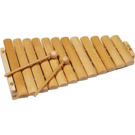 Xilofon din lemn cu 12 tonuri