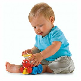 Fisher Price Brilliant Basics Poppity Pop Train - Trenuletul Vesel