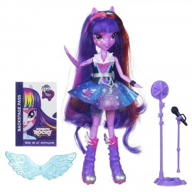 Papusa Equestria Twilight Sparkle cantareata - My Little Pony